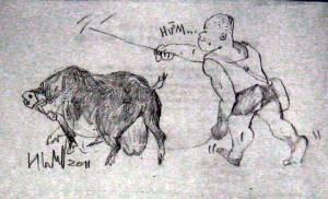 Con lợn đực và tui